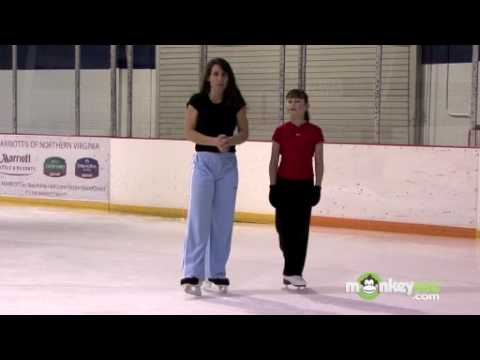 Ice Hockey – Skate Backwards Inside and Outside Edge Drills