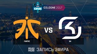 Fnatic vs SK  - ESL One Cologne 2017 - de_mirage [Enkanis , yXo]