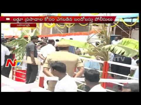 President Pranab Mukherjee to visits Yadadri Temple