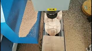 4 Axis CNC Router Rotary Axis Engraving Machine For Air Cooling System youtube video
