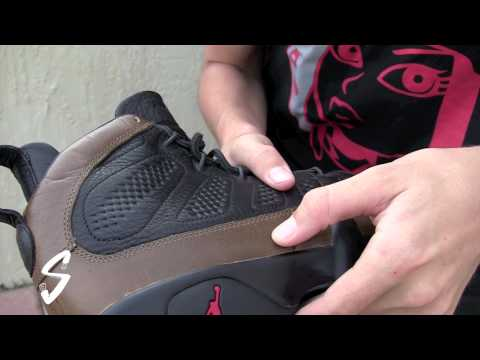 Air Jordan IX: Premio Sample   Video Review