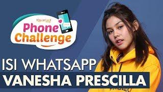 Video #PhoneChallenge - Vanesha Prescilla MP3, 3GP, MP4, WEBM, AVI, FLV Mei 2019