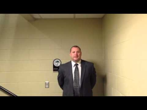 Men's Hockey:  Coach Loen Discusses 5-2 Loss to Adrian