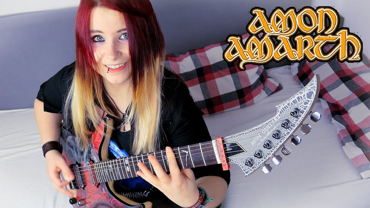 AMON AMARTH – Guardians Of Asgaard [GUITAR COVER] with SOLO | Jassy J