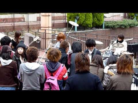 Japanese Amateur Rockers in Nagoya Central Park #7 11-22-2009 (видео)