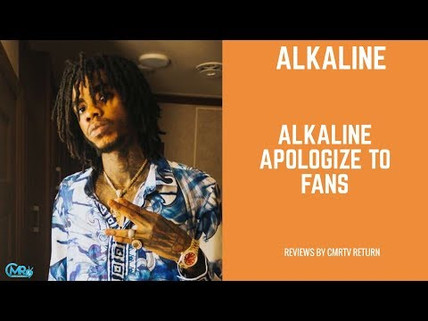 Why Alkaline Apologize To His Fans?