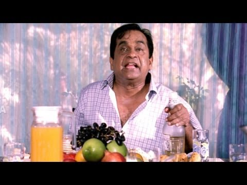 Brahmanandam Comedy At Launch Time (Drinking) | Baadshah Comedy Scenes | NTR, Nassar | HD