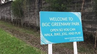 BGC Greenway Park – longest urban park in Metro Manila Video
