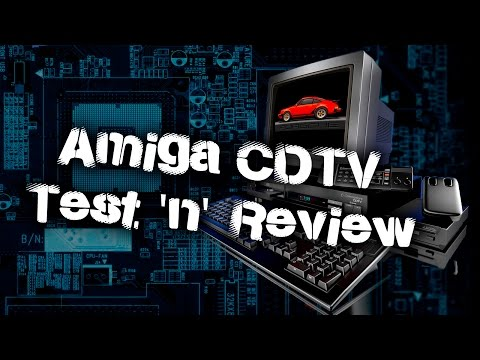 Commodore Amiga CDTV Test & Review