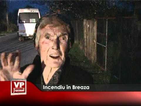 Incendiu în Breaza