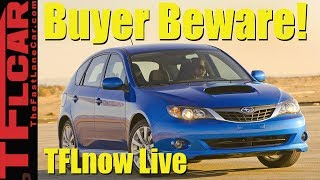 Video Buyer Beware! 10 Used Cars to Avoid Like The Plague: TFLnow Live Show #3 MP3, 3GP, MP4, WEBM, AVI, FLV April 2019