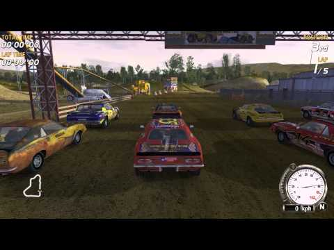 PC Longplay [457] Flatout (part 1 of 2)