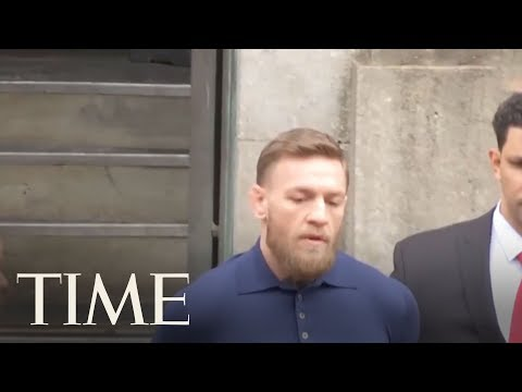 UFC Star Conor McGregor Arrives At New York Courthouse After Bus Attack Arrest | TIME