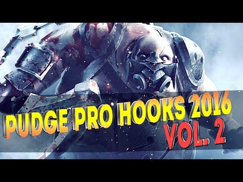 Dota 2 Pudge Pro Hooks 2016 - Weekly Hooks Vol-2