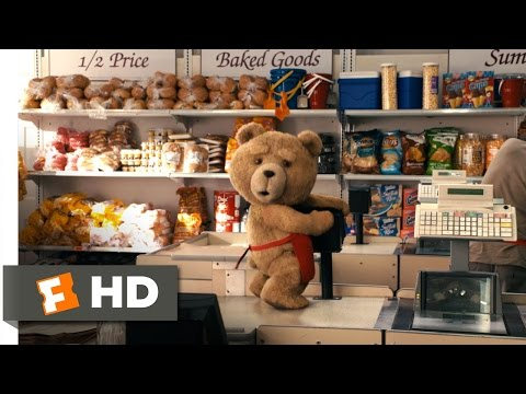 Ted (5/10) Movie CLIP - The Supermarket (2012) HD