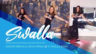 Video Swalla - Jason Derulo ft Nicki Minaj - Ty Dolla $ign - Easy Fitness Dance - Baile - Coreo Choreo MP3, 3GP, MP4, WEBM, AVI, FLV September 2017