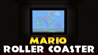 EPIC Minecraft ROLLER COASTER | Super Mario Minecraft | Best Minecraft Roller coaster