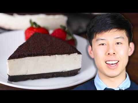 How To Make Alvin's Cookies & Cream Cheesecake • Tasty