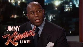 Magic Johnson Once Trash-Talked Michael Jordan