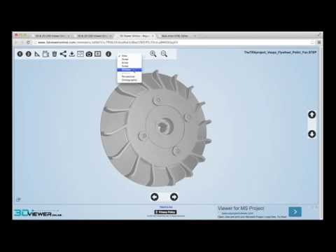 3D Viewer Online (Registered User) - 3 mins tour