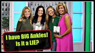 My Ankles are BIG!  Is it a Lie? | Lysa Terkeurst and Chelsea Crockett by Chelsea Crockett