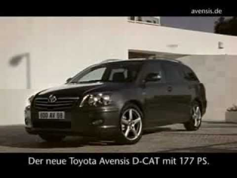 Toyota Avensis D-CAT Commercial