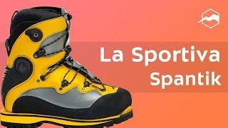 Ботинки для высотных и зимних восхождений La Sportiva Spantik