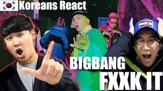 Video BIGBANG - FXXK IT(에라 모르겠다) REACTION! / KOREAN GUYS REACT MP3, 3GP, MP4, WEBM, AVI, FLV Maret 2018