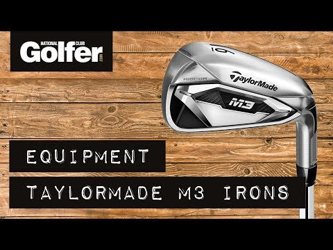 TaylorMade M3 Irons Review featuring Dustin Johnson