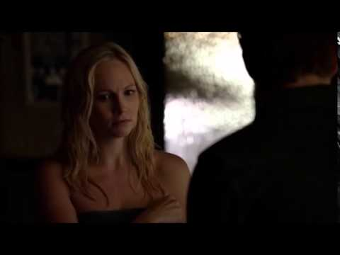 "TVD: Caroline and Stefan ""Towel scene"""