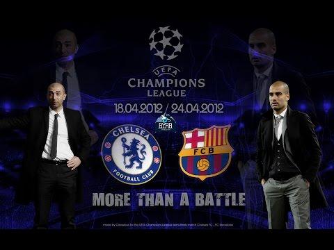 Полу-финал Лиги Чемпионов 20112012 Барселона - Челси | Реакция фанатов | byRB