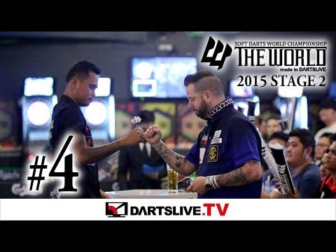 #4【Lourence Ilagan VS Adrian Gray】THE WORLD 2015 -FEATURED MATCH 2-