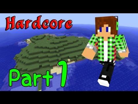 【Minecraft】ハードコア島 Part1【実況】