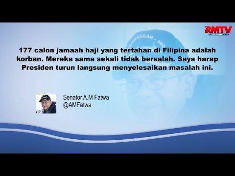 177 Calon Jamaah Haji Tertahan di Filipina, Presiden Harus Turun Tangan!