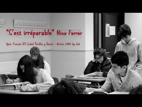 C'est irreparable - LipDub IES Isabel Perillan y Quiros, Dpto. Frances (Campo de Criptana)