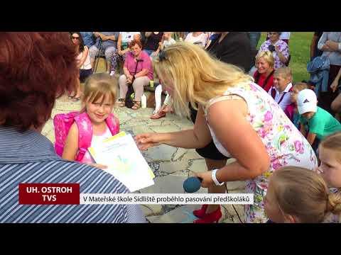 TVS: Uherský Ostroh - MŠ Sídliště - Pasování předškoláků