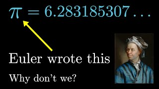 How pi was almost 6.283185...