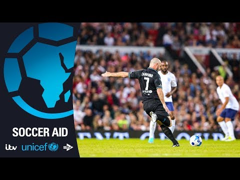 Eric Cantona Back At Old Trafford | Soccer Aid For Unicef
