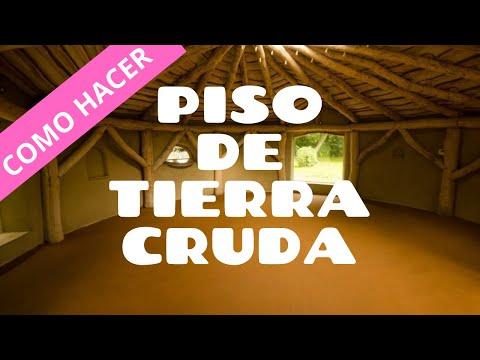 TUTORIAL  PISO DE TIERRA con acabado brillante para tu casa de barro o superadobe