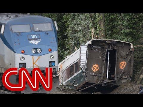 Amtrak derailment: Listen to conductor's call