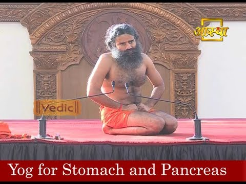 Yog for Stomach and Pancreas