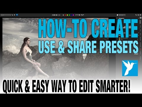 Presets - Creating, Using & Sharing - Corel AfterShot Pro Presets Made Easy!