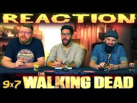 "The Walking Dead 9x7 REACTION!! ""Stradivarius"""