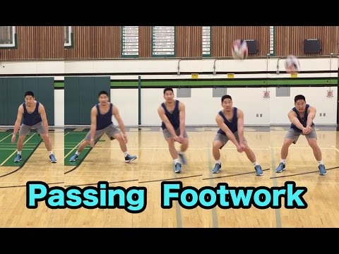 Passing Footwork - How to PASS a Volleyball Tutorial (part 5/6)