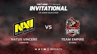 Natus Vincere против Team Empire, Первая карта, CIS квалификация SL i-League Invitational S3