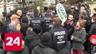 Марш ультраправых: в Берлине требуют отставки канцлера