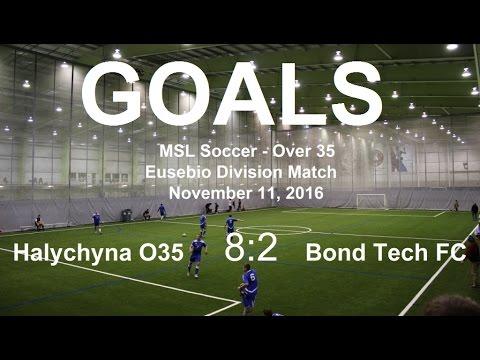 Foorball 7x7. MSL - GOALS. Halychyna O35 8 – 2 Bond Tech FC