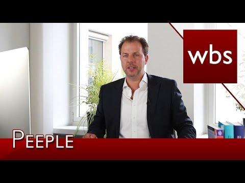 Bewertung von Privatpersonen in der Peeple App – Ist das legal?