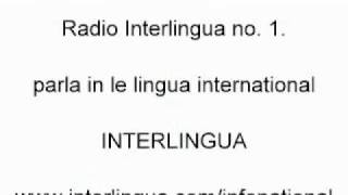 Isto es le prime podcast de Radio Interlingua - un radio, que parla in le lingua international INTERLINGUA. http://www.interlingua.com/radio . Informationes ...