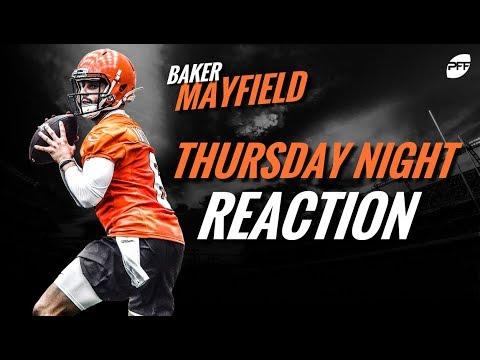 NFL preseason week 1 reaction: Baker Mayfield   PFF